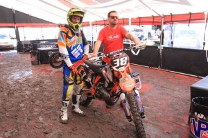 Seth and Chad ready to take on the mud